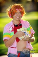 Harajuku Misty and Togepi by moonymonster