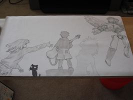 FLCL Playmat 2 by WingedHeart158