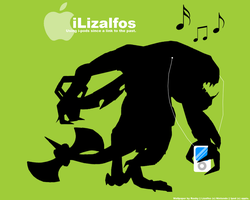 iLizalfos wallpaper by Raxby