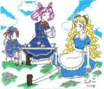 Sailor moon in wonderland by coelha-da-lua