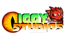 Iggy studios logo with Lizzie by Absolhunter251