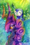 Scolipede'n'Piplup by Frozenspots