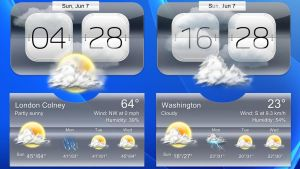 Super Weather HD v2 for xwidget by jimking