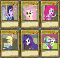 Equestria Girls Cards by RogueHeart101