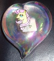 Fluttershy Paperweight by LilSugarberry