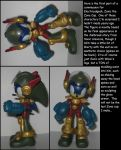 Custom Commission: Zonic the Zone Cop by Wakeangel2001