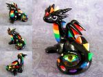 Rainbow Dragon 2 by DragonsAndBeasties
