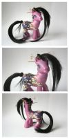 Shirahime - Oriental pony by BlackAngel-Diana