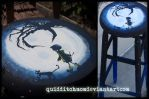 Coraline Stool by quidditchmom