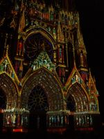 Cathedrale de Reims - 800 ans by Ganoninc