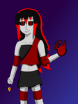 Dark!Phyra is the Angel of Darkness by ProjectANGEL101