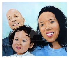 portret of an family COMISSION by Hollow-Moon-Art