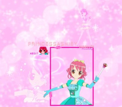 My LilPri youtube layout by PrincessAsh1ey