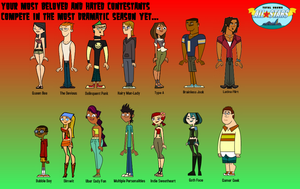 Total Drama All - Stars Labels by StarsAndStraps20