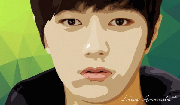 Infinite - Myungsoo L Vector by liza0593