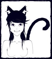 Cat by Cur5ed5ide