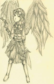 Angel by SeraphinaDawn