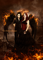 The Fire Angels by DenysRoqueDesign