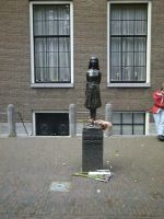 The Anne Frank Statue by Penguin-Humper