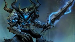 DAGE THE EVIL COMMANDER by joew12345