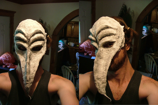First attempt at making a mask by smkoberg
