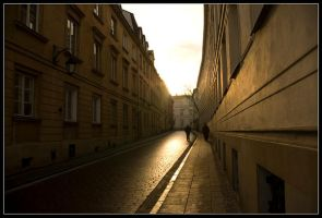 Warsaw Old Town by gwilinski