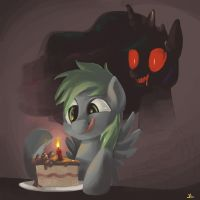 Be Careful Where You Eat Your Cake by DocWario