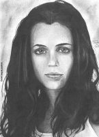 Eliza Dushku portrait by RogueDerek