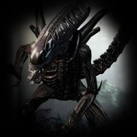 Aliens vs. Predator 3 - Alien by darkcyberxeno