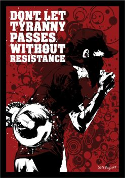Resistance by graphic-resistance