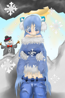 Catching the snowflakes commission by Emilyh148