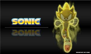 Super Sonic Wallpaper by MP-SONIC