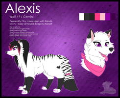 Alexis [Feral] Reference by LexiCakes