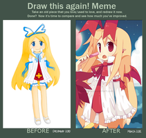 Draw This Again Meme 3 by hanahello