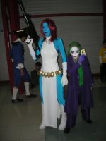 Mystique classic and The Joker by ScannerJOE
