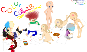 Color Collab Open! 8 slots! by Fluffle-Puffz