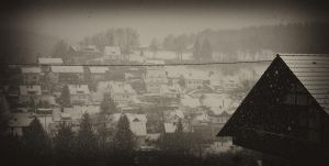 Snowy day by JimP4nsen