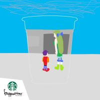 Frappuccino contest entry by HYPERJOSEPH