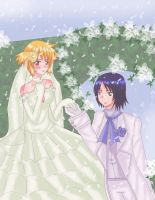 Athrun and Cagalli by Yuri-chan24