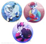 Commission Badges by Linzu