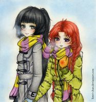 Hold my Hand, it's cold outside. by Limei-chan