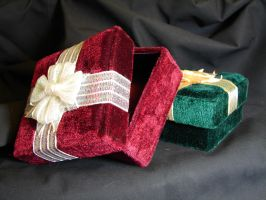 Velvet Gift Boxes 2 by FantasyStock