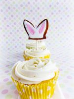 Bunny Cupcakes by dabbisch