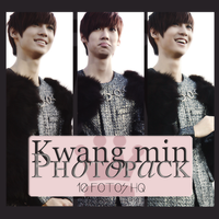 Photopack Kwang Min- Boyfriend 001 by DiamondPhotopacks