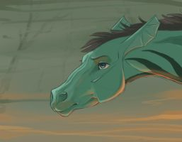 .: Swamp horse :. by Shien-Ra