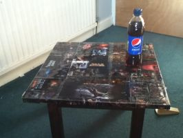 Dead Space table by Dark-Pon3