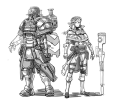 characters for old project by kimplate