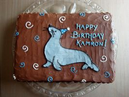 Kamron's Seal by CakeandCaboodle
