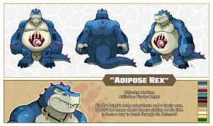 Adipose Rex sheet by Rhandi-Mask