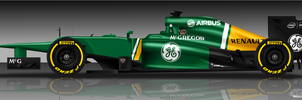 Caterham CT03 by pieczaro